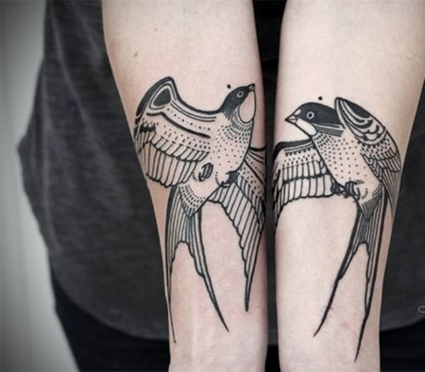 97 Cute Swallow Tattoo Designs To Try For Your Next Tattoo