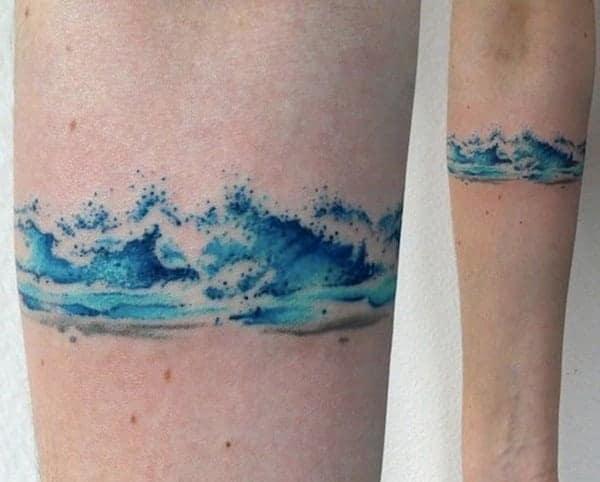 de43792f0 125 Arranging Wave Tattoo Design Ideas