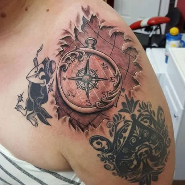 Exceptional Shoulder Tattoo Designs For Men And Women0461