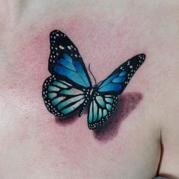 125 Designer Blue Tattoo Designs For Artists
