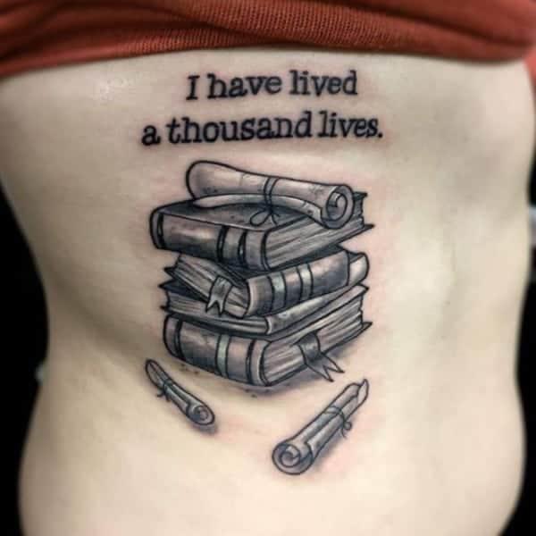 71 cool book tattoos that are pretty badass rh inkme tattoo open book tattoo ideas open book tattoo ideas