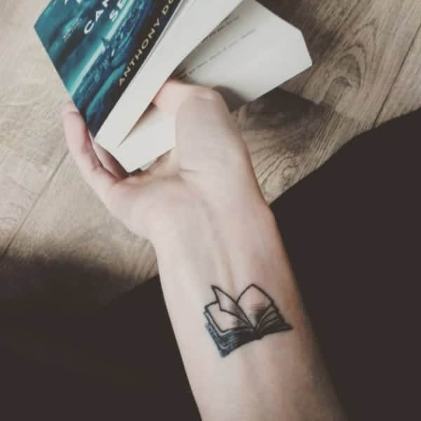 Tattoo Ideas Growth: 71 Cool Book Tattoos That Are Pretty Badass