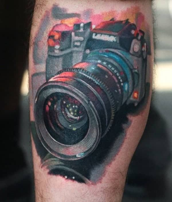 Tattoo Designs Camera: 125 Camera Tattoo To Show Your Love Towards Photography