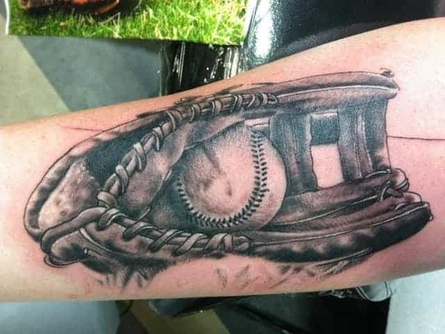 b46d467008382 125 Amazing Baseball Tattoos for Sports Lovers