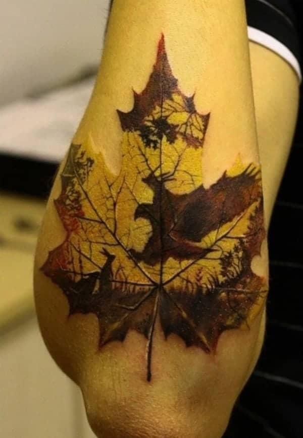 leaves-tattoo-design0061