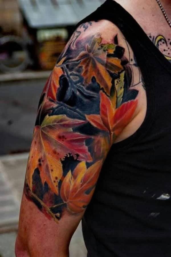 leaves-tattoo-design0121