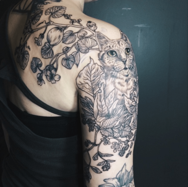 leaves-tattoo-design0501
