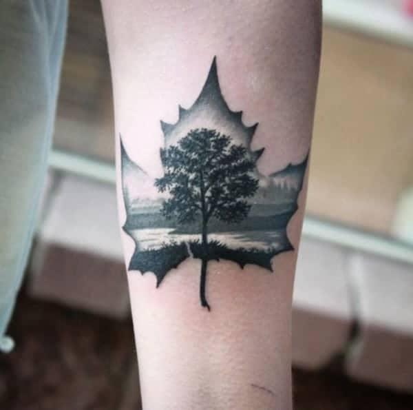 leaves-tattoo-design0531