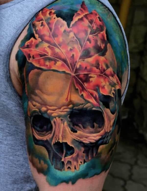 leaves-tattoo-design0631