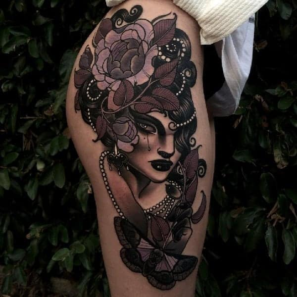 Neo Traditional Tatoos Ideas 32
