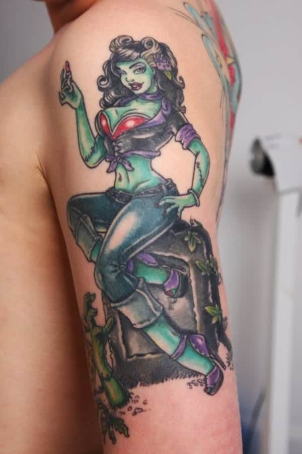 Assez Pin-up tattoo designs: Best 75 ideas that will rock your world NP69