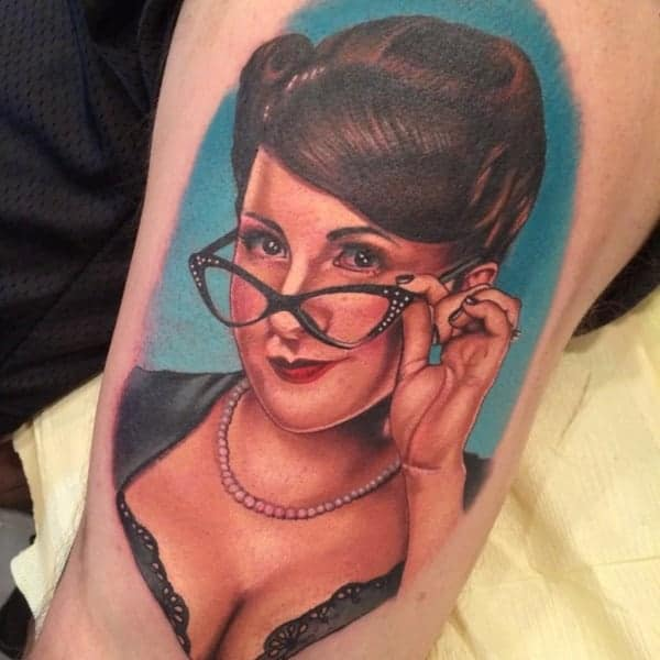 Très Pin-up tattoo designs: Best 75 ideas that will rock your world KD55