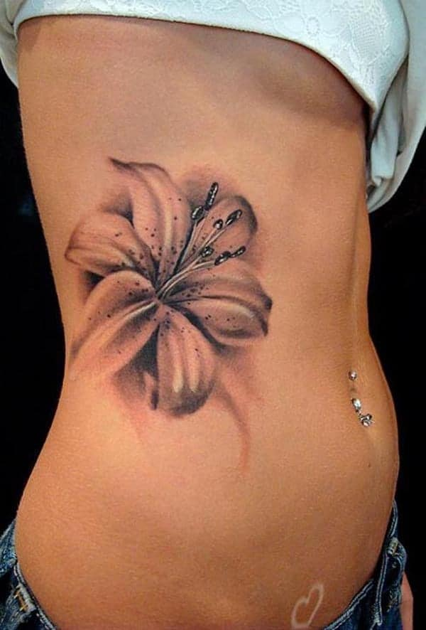 sketch-tattoos-ideas3d-name-and-flower-sketch-tattoos