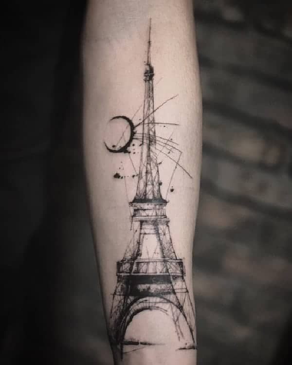 sketch-tattoos-ideaseiffel-tower-tattoo-by-carpet-bombing-ink