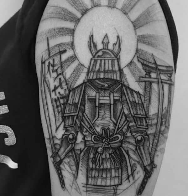 79 Fashionable And Intriguing Sketch Tattoo Ideas For Your Next Ink