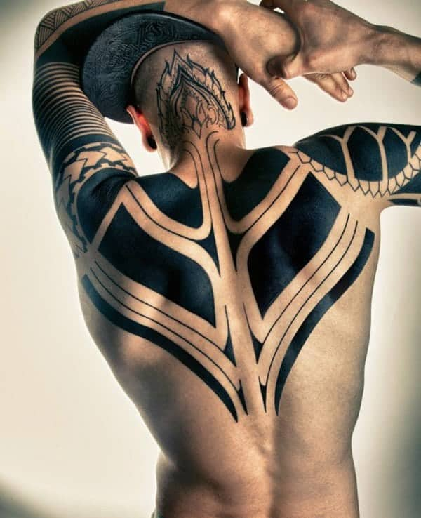 e955dca9f 120 Wild Tribal Tattoos That will Reveal Your Powerful Soul