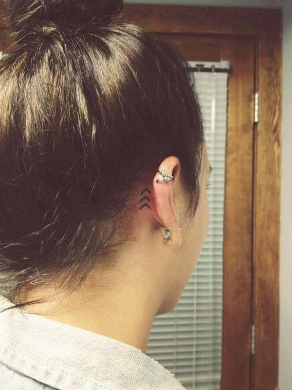 145 Pretty Behind The Ear Tattoos That Will Please You