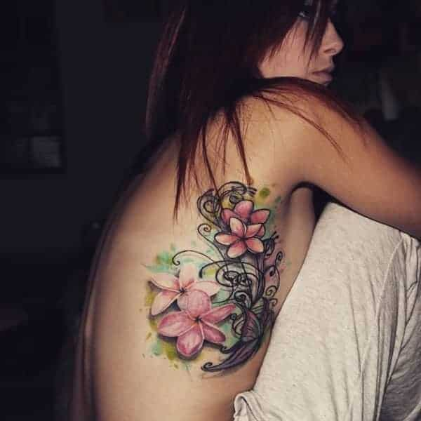 145 Extraordinary Rib Cage Tattoos That You Will Love
