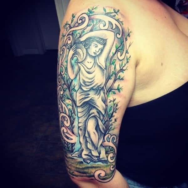 80 Unique Aquarius Tattoo Ideas That You Are Sure to Love