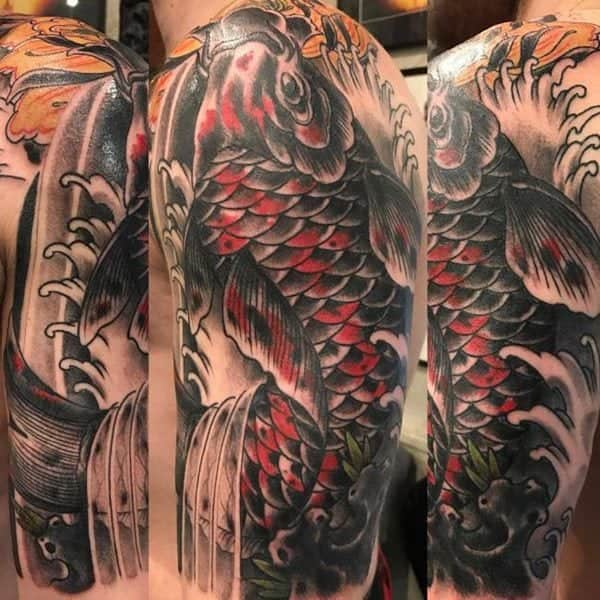 108 amazing japanese tattoos that are very cultural. Black Bedroom Furniture Sets. Home Design Ideas