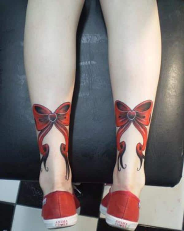 44 Sweet Bow Tattoos To Brighten Your Day