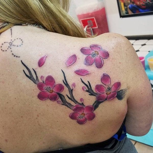 175 Of The Prettiest Cherry Blossom Tattoos