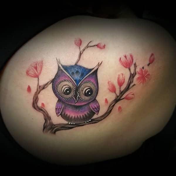 Dark Owl Tattoo Designs