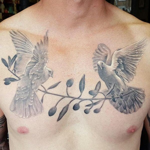 Tattoo Ideas Doves: 80 Breathtaking Dove Tattoos That Will Catch Your Eye