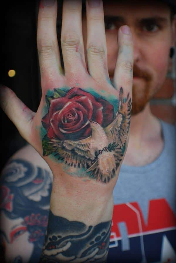 145 Breathtaking Dove Tattoos That Will Catch Your Eye