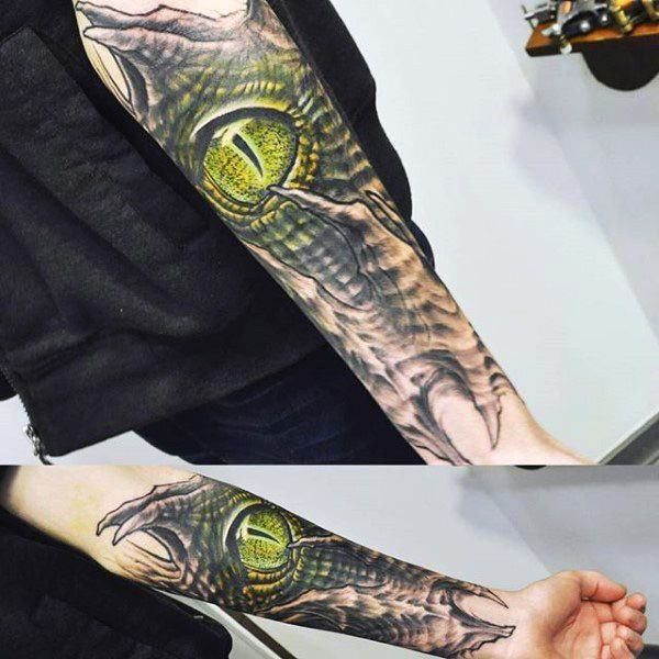 a1090b08324ea 114 Intense Eye Tattoos That Will Blow Your Mind