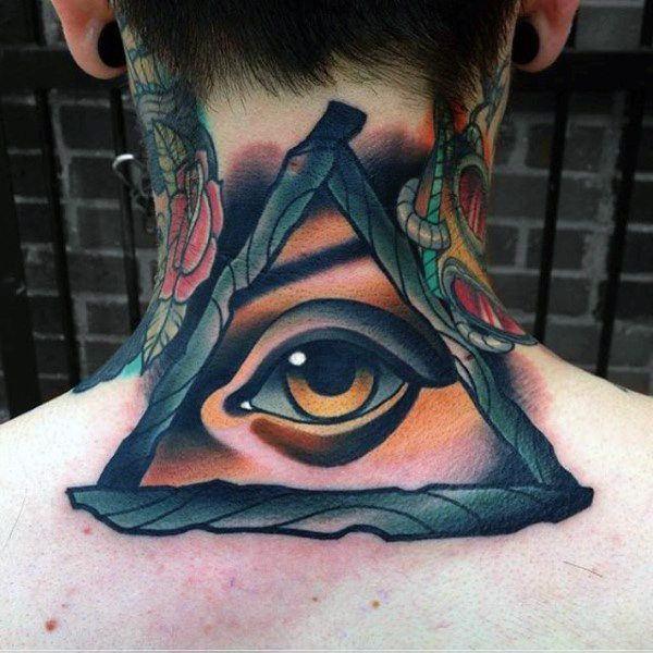 Illuminati Triangle Tattoo 114 Intense Eye Tattoo...