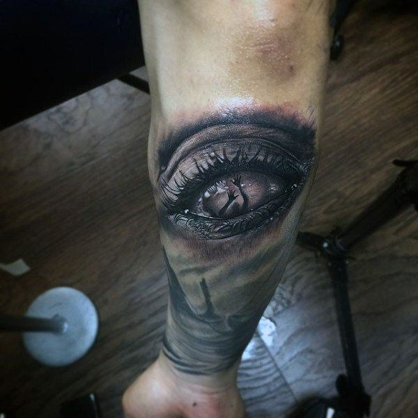 d7590f26f 114 Intense Eye Tattoos That Will Blow Your Mind