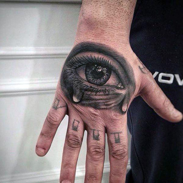 Hand Eye Tattoo: 114 Intense Eye Tattoos That Will Blow Your Mind