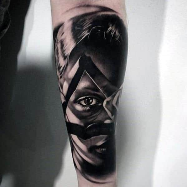 Tattoo Woman Dark: 114 Intense Eye Tattoos That Will Blow Your Mind