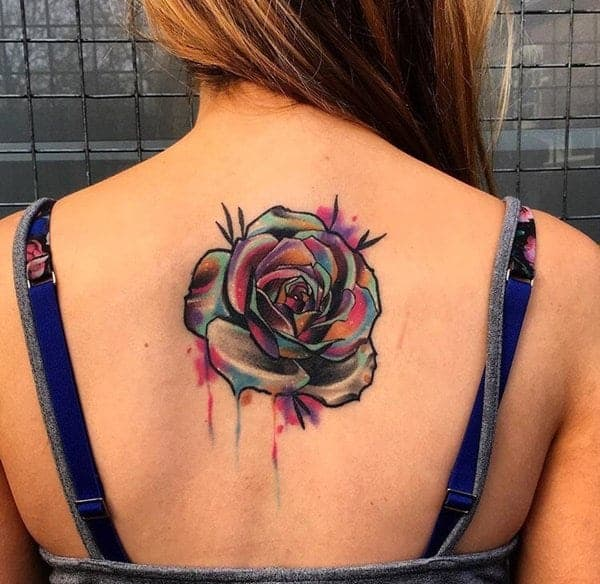 f8682ef6d851d 110 Gorgeous Flower Tattoos to Brighten Your Day (2019)