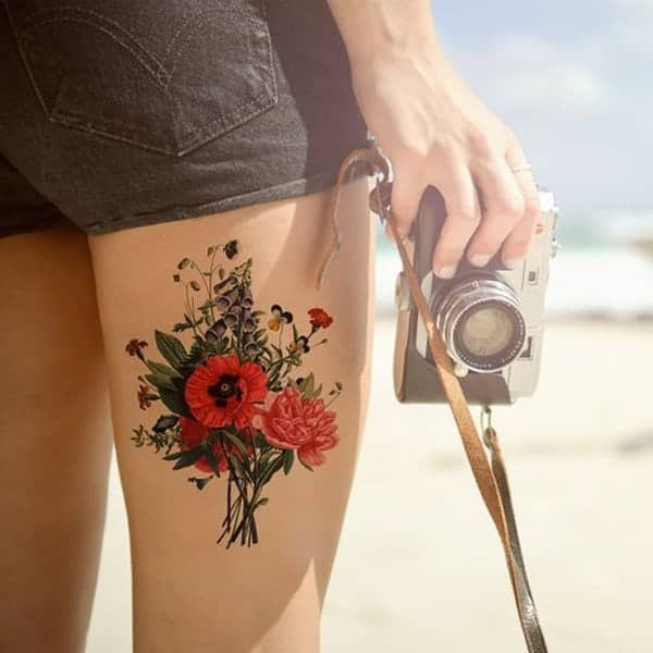 110 Gorgeous Flower Tattoos to Brighten Your Day (2019)