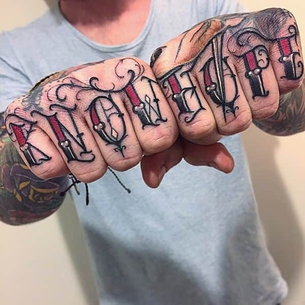 4 Letter Words For Hand Tattoos Thedoctsite