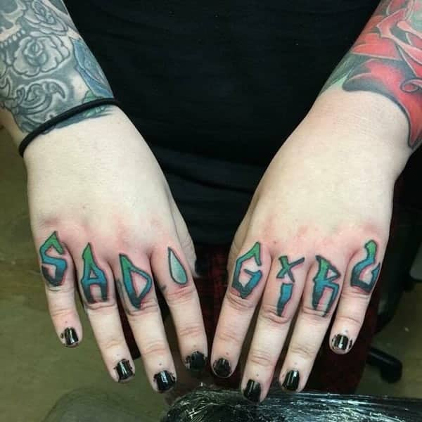 225 Heartwarming Family Tattoo Ideas That Show Your Love: 92 Badass Knuckle Tattoos That Will Make You Proud