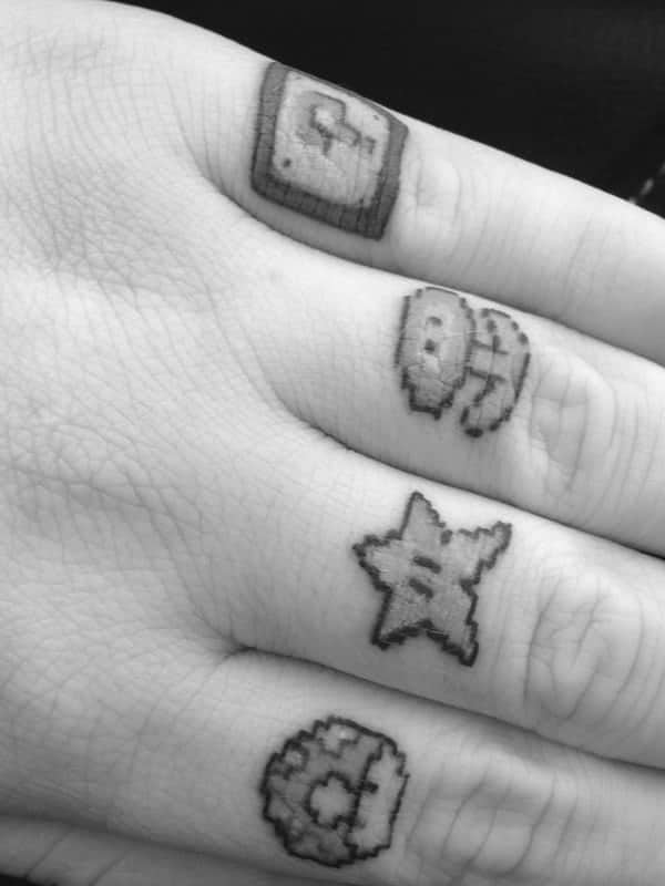92 Badass Knuckle Tattoos That Will Make You Proud