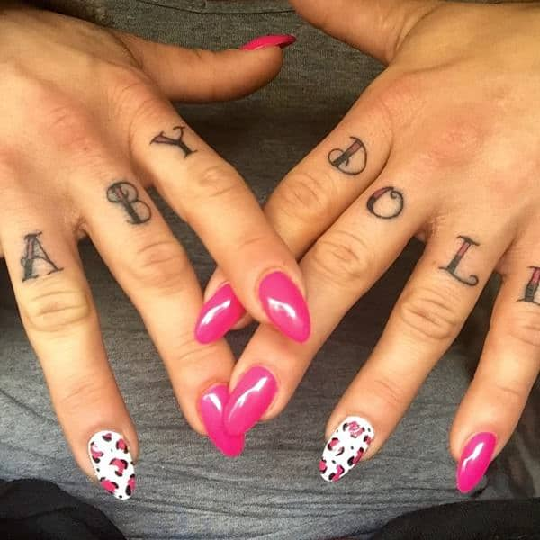 Black Baby Doll Tattoo: 92 Badass Knuckle Tattoos That Will Make You Proud