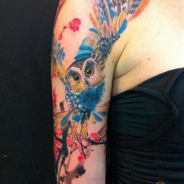 122 Amazing Owl Tattoos & Their Meanings
