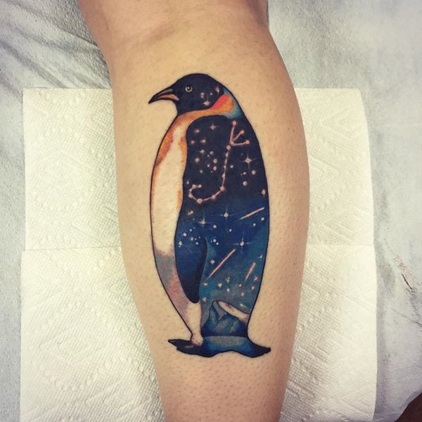10 Penguin Tattoo Designs And Ideas: 44 Amazing Penguin Tattoo Ideas That Will Make You Fly