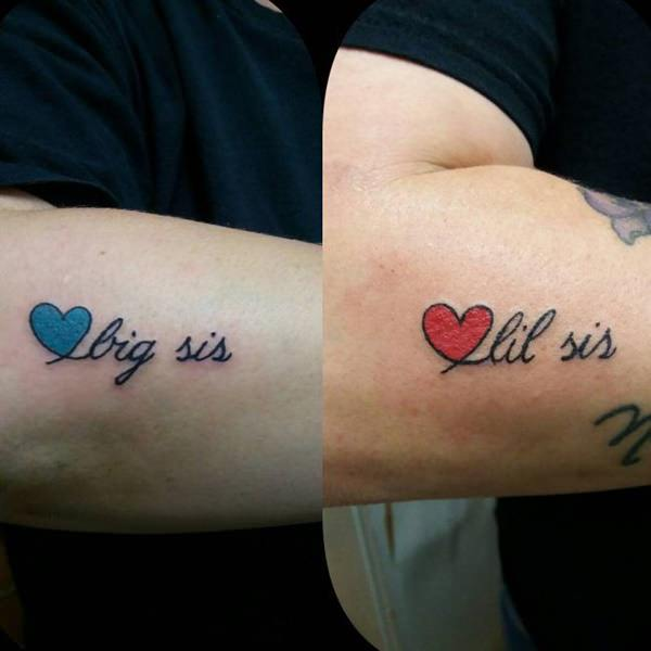 Tattoo Quotes For Sisters: 130 Inspiring Sister Tattoos That You Will Love