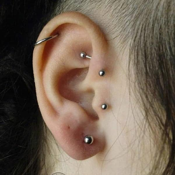 Helix Piercing 101 Types Healing Time Pain Things To Know With