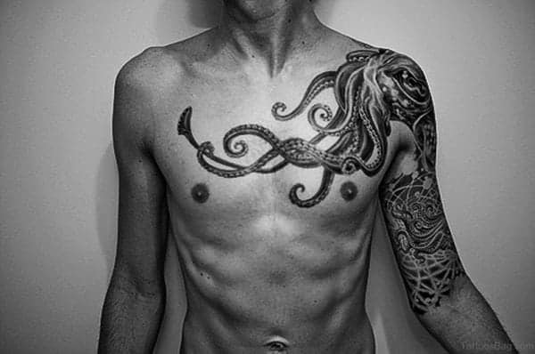 125 Chest Tattoos For Men & Things To Know Before Getting 4