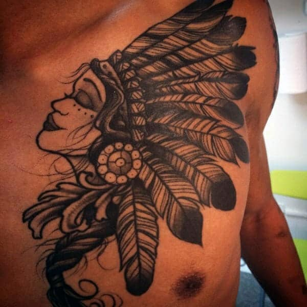 125 Chest Tattoos For Men & Things To Know Before Getting 63
