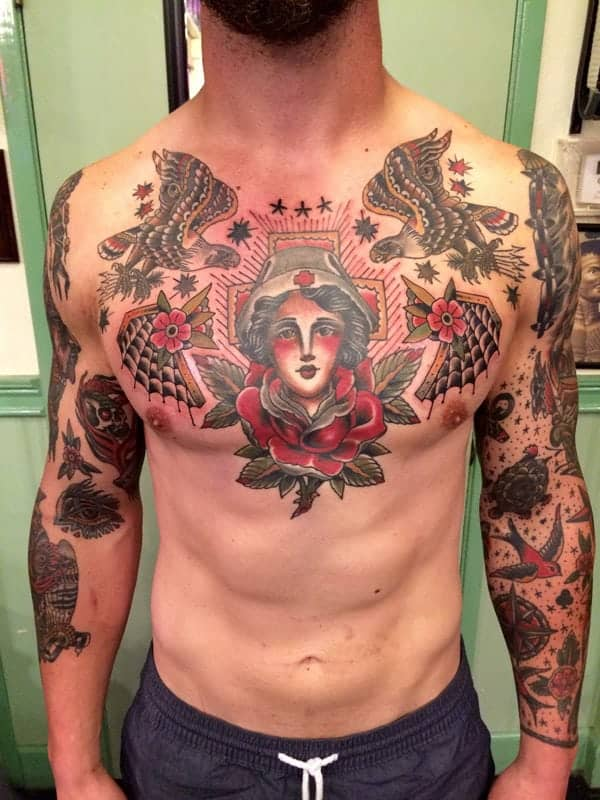 125 Chest Tattoos For Men & Things To Know Before Getting