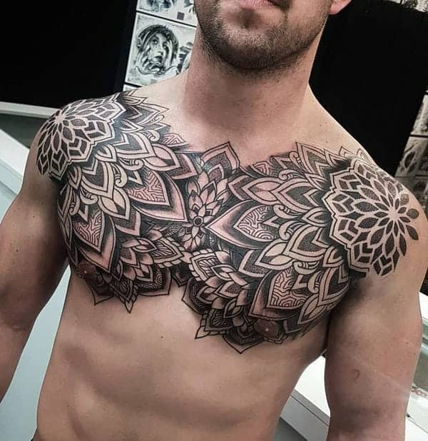 40 Wing Chest Tattoo Designs For Men: 125 Chest Tattoos For Men & Things To Know Before Getting