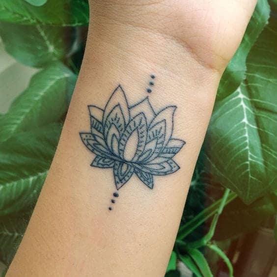 lotus-flower-tattoos
