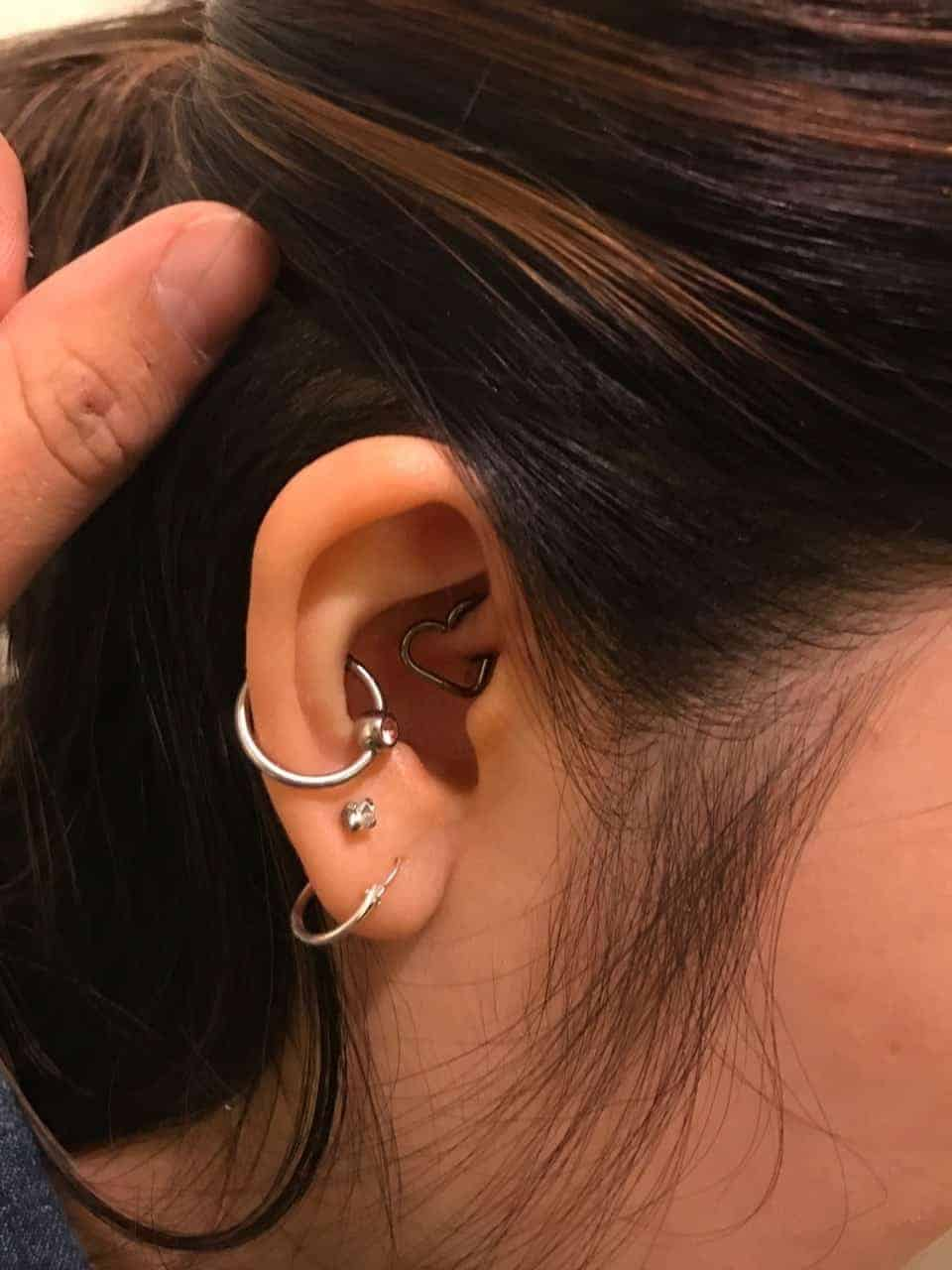 Types of ear piercings for men